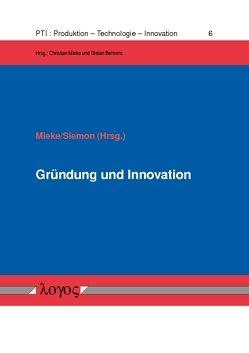 Gründung und Innovation von Mieke,  Christian, Siemon,  Cord