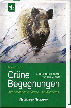Grüne Begegnungen von Krewer,  Bernd, Mangold,  Jörg