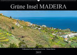 Grüne Insel MADEIRA (Wandkalender 2019 DIN A2 quer) von Baron,  Hanne