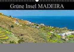 Grüne Insel MADEIRA (Wandkalender 2019 DIN A3 quer) von Baron,  Hanne