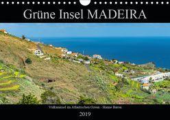Grüne Insel MADEIRA (Wandkalender 2019 DIN A4 quer) von Baron,  Hanne