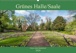 Grünes Halle/Saale – Meine wilde Händelstadt (Wandkalender 2020 DIN A2 quer) von Wasilewski,  Martin