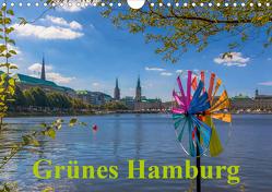 Grünes Hamburg (Wandkalender 2020 DIN A4 quer) von Pietzonka,  Siegfried