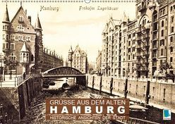 Grüße aus dem alten Hamburg – Historische Ansichten der Stadt (Wandkalender 2019 DIN A2 quer)