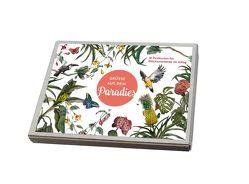 Grüße aus dem Paradies – Postkartenbox von Joussen,  Thomas, Karliczek,  Peter
