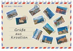 Grüße aus Kroatien (Tischkalender 2019 DIN A5 quer) von Kirsch,  Gunter