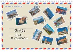 Grüße aus Kroatien (Wandkalender 2020 DIN A4 quer) von Kirsch,  Gunter