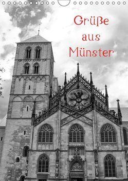 Grüße aus Münster (Wandkalender 2019 DIN A4 hoch) von kattobello