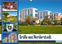 Grüße aus Norderstedt (Wandkalender 2018 DIN A2 quer) von photo impressions,  D.E.T.