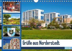 Grüße aus Norderstedt (Wandkalender 2018 DIN A4 quer) von photo impressions,  D.E.T.