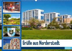 Grüße aus Norderstedt (Wandkalender 2020 DIN A2 quer) von photo impressions,  D.E.T.