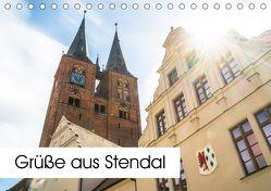 Grüße aus Stendal: Kalender 2018 (Tischkalender 2018 DIN A5 quer) von Krämer,  Peter