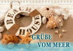 Grüße vom Meer (Tischkalender 2019 DIN A5 quer) von B-B Müller,  Christine