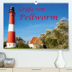 Grüße von Pellworm (Premium, hochwertiger DIN A2 Wandkalender 2020, Kunstdruck in Hochglanz) von photo impressions,  D.E.T.