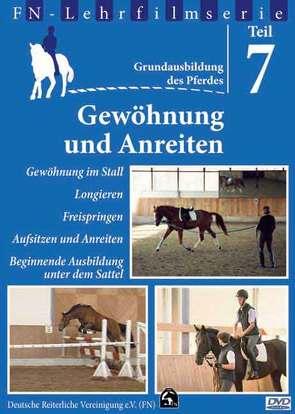 Grundausbildung des Pferdes – Teil 7 von Plewa,  Martin