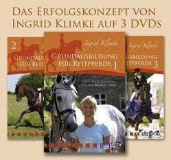Grundausbildung des Reitpferdes 1-3 von Braun,  Gudrun, Klimke,  Ingrid, Stecken,  Paul, Vogel,  Inge, Vogel,  Thomas