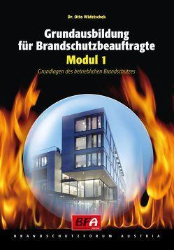 Grundausbildung für Brandschutzbeauftragte von Widetschek,  Otto