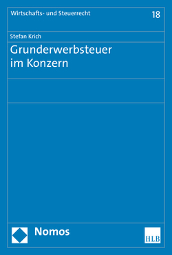 Grunderwerbsteuer im Konzern von Krich,  Stefan