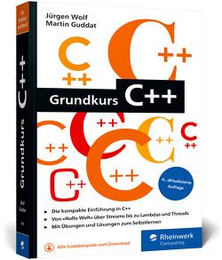 Grundkurs C++ von Guddat,  Martin, Wolf,  Jürgen