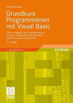 Grundkurs Programmieren mit Visual Basic von Kämper,  Sabine