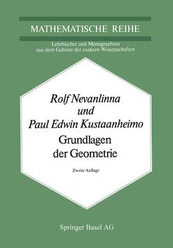 Grundlagen der Geometrie von Kustaanheimo, Nevanlinna,  R.