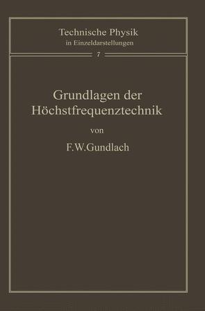 Grundlagen der Höchstfrequenztechnik von Gundlach,  F.W.