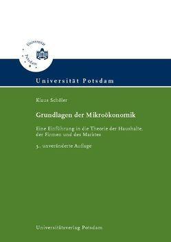 Grundlagen der Mikroökonomik von Schöler,  Klaus