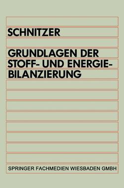 Grundlagen der Stoff- und Energiebilanzierung von Schnitzer,  Hans