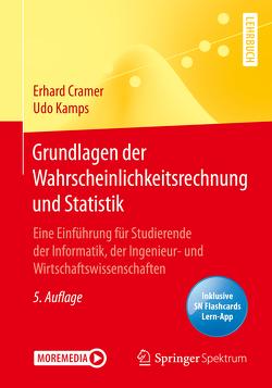 Grundlagen der Wahrscheinlichkeitsrechnung und Statistik von Cramer,  Erhard, Kamps,  Udo