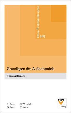 Grundlagen des Außenhandels von Karasek,  Thomas