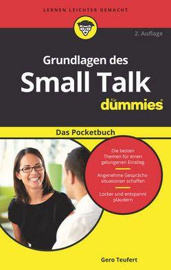Grundlagen des Small Talk für Dummies Das Pocketbuch von Teufert,  Gero