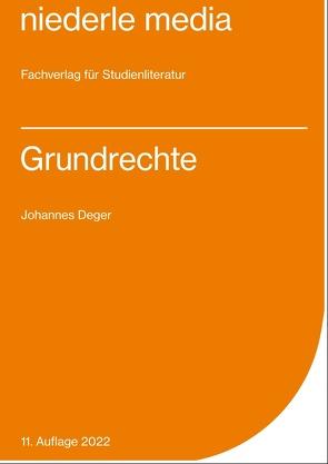 Grundrechte 2019 von Deger,  Johannes