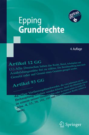 Grundrechte von Epping,  Volker, Lenz,  Sebastian, Leydecker,  Philipp