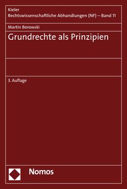 Grundrechte als Prinzipien von Borowski,  Martin