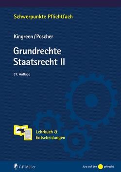 Grundrechte. Staatsrecht II von Kingreen,  Thorsten, Poscher,  Ralf