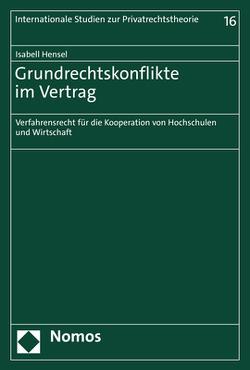 Grundrechtskonflikte im Vertrag von Hensel,  Isabell