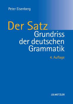 Grundriss der deutschen Grammatik von Eisenberg,  Peter, Thieroff,  Rolf