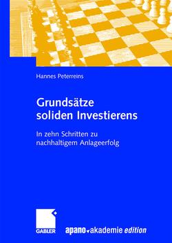 Grundsätze soliden Investierens von Peterreins,  Hannes
