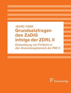 Grundsatzfragen des ZaDiG infolge der ZDRL II von Tuder,  Georg