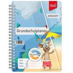 Grundschulplaner mit Frieda & Otto 2018/2019 von Lückert,  Wolfgang