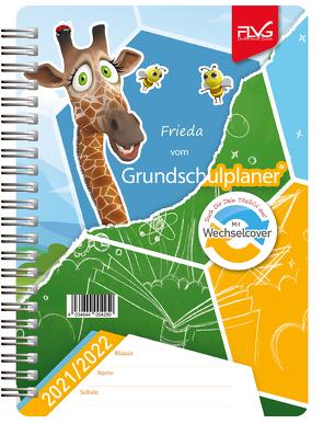 Grundschulplaner mit Frieda & Otto 2021/2022 von Lückert,  Wolfgang