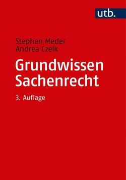 Grundwissen Sachenrecht von Czelk,  Andrea, Meder,  Stephan