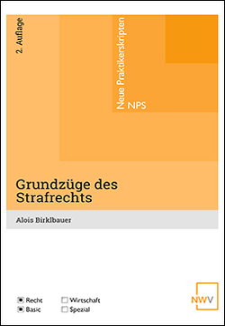 Grundzüge des Strafrechts von Birklbauer,  Alois