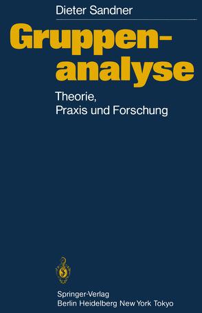 Gruppenanalyse von Ohlmeier,  D., Sandner,  Dieter, Schwarz,  F.