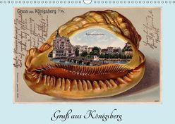 Gruß aus Königsberg – Historische Ansichtskarten (Wandkalender 2019 DIN A3 quer) von von Loewis of Menar,  Henning