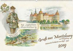 Gruß aus Moritzburg und Umgebung (Wandkalender 2019 DIN A2 quer)