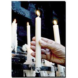 Grußkarte, 375 Jahre Wallfahrt Kevelaer Kerzenkapelle von Valles Fernandez,  David