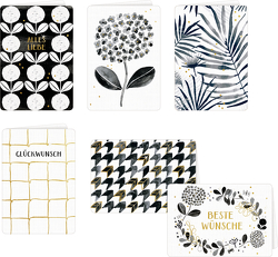 Grußkarten mit Kuvert – All about black & white