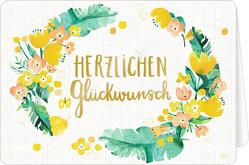 Grußkarten mit Kuvert – All about yellow