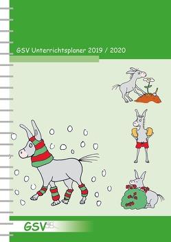 GSV Unterrichtsplaner für Grundschullehrer (DIN A4) 2019/20, Wire-O-Ringbindung von Foerster,  Tamara